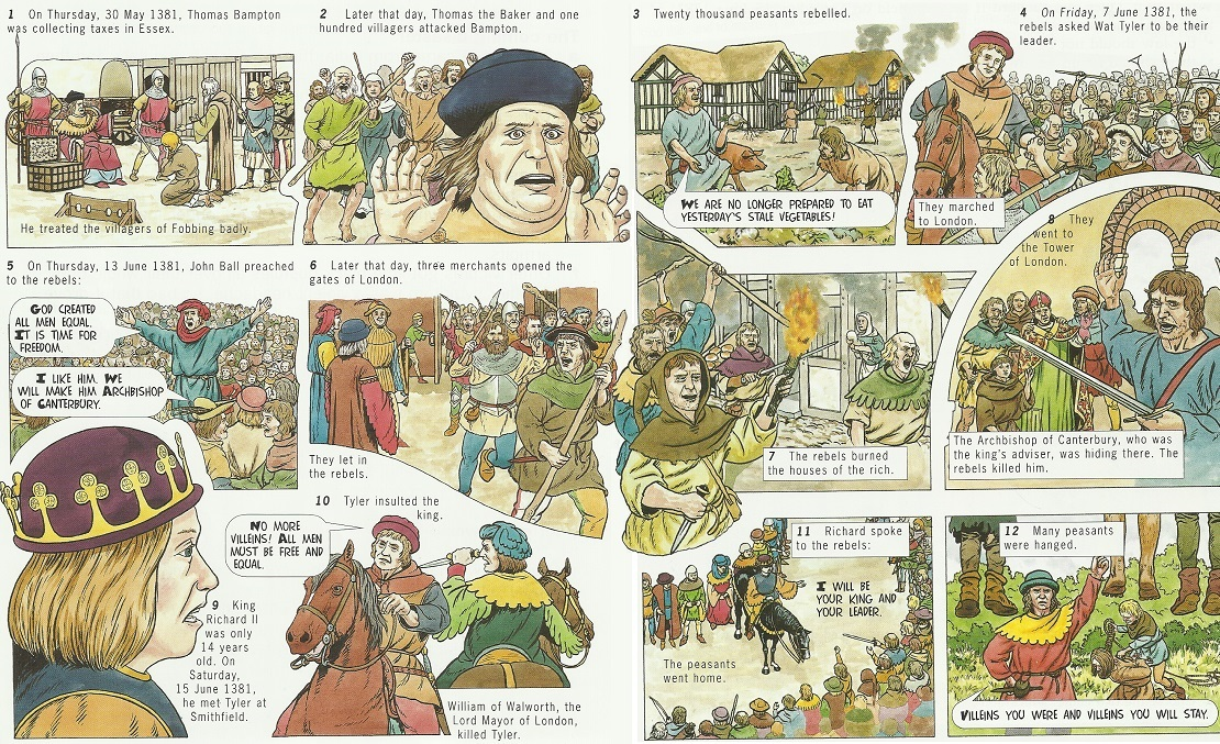the peasants revolt in england 1381 essay