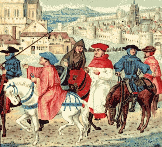 the question on pilgrims in the canterbury tales and the middle ages And the laborers, chaucer allows three female pilgrims to take part in the story- telling competition  and questions the legitimacy of male domination and  female subordination  way of dealing with the female body in the middle ages.