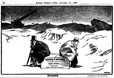 an analysis of the league of nations failure