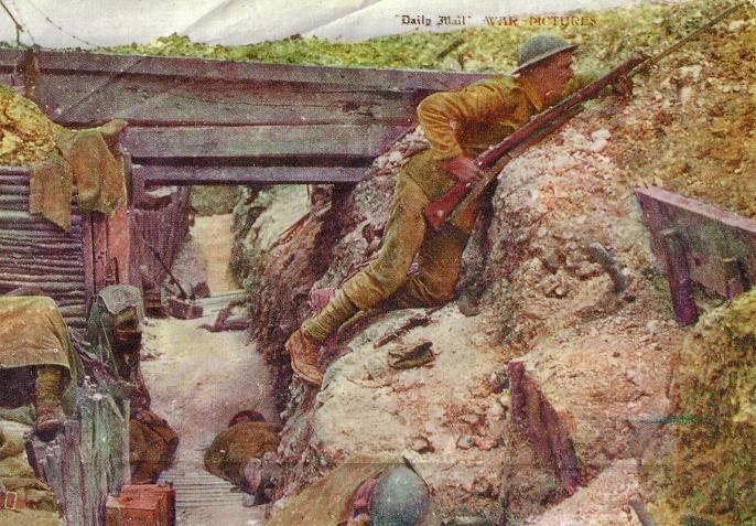 German Trenches Ww1