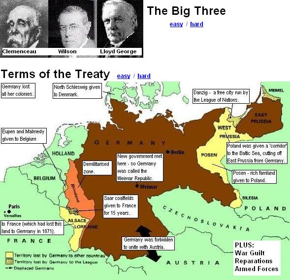 the treaty of versailles questions and answers Take the quiz: treaty of versailles how much do you know about the treaty of  versailles, beyond the fact that it ended world war i for germany.