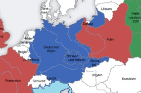 Map Of Germany 1939.Causes Of War